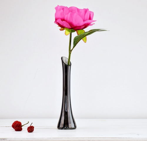 Drop Vase 20cm  Black Dawn
